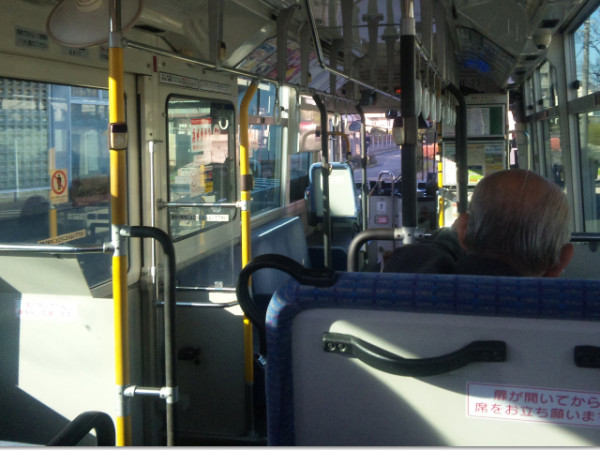 名古屋市交通局市バスに乗車