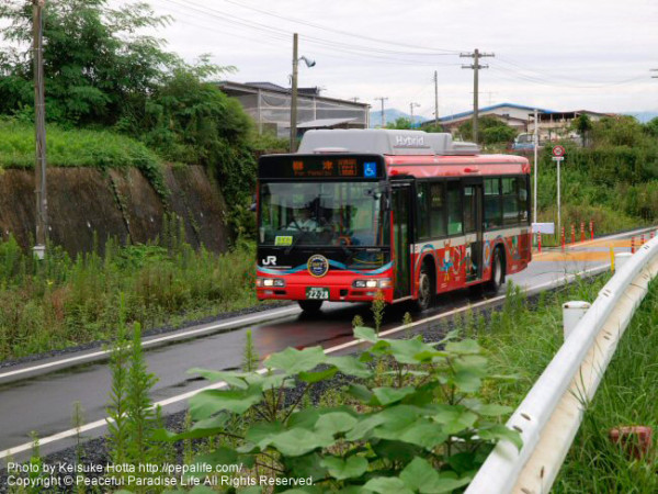 BRTに整備された気仙沼線
