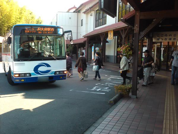 あいち健康の森げんきの郷に乗り入れる路線バス